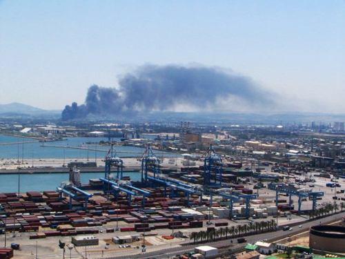 זיהום אוויר במפרץ חיפה