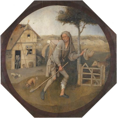 Hieronymus Bosch: <i>The Wayfarer</i>, circa 1500–1510