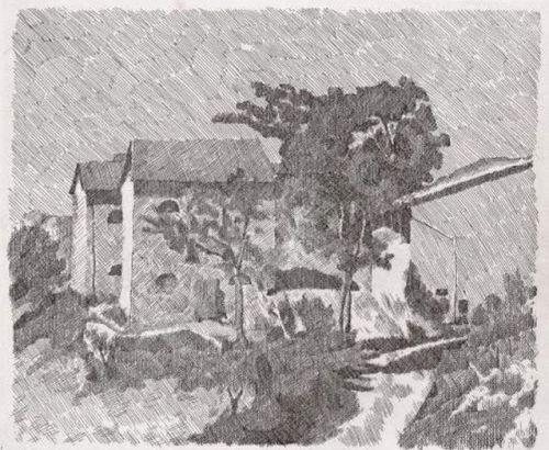 morandi-three-houses-in-campiaro-1929